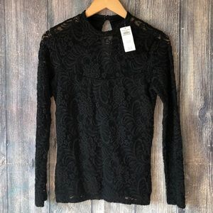 NWT Abercrombie and Fitch Lace Top